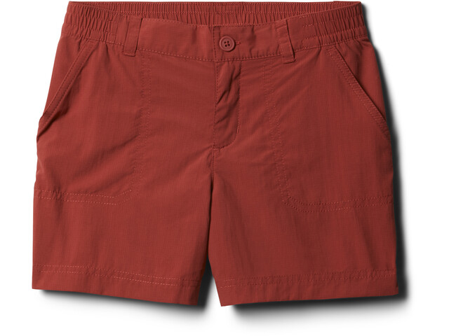 Columbia Silver Ridge IV Shorts Niñas, rojo